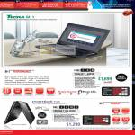 Notebooks Tecra M11 2003X Portege T130 D350