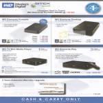 WD External Storage Elements Portable Desktop TV Mini Media Player Play