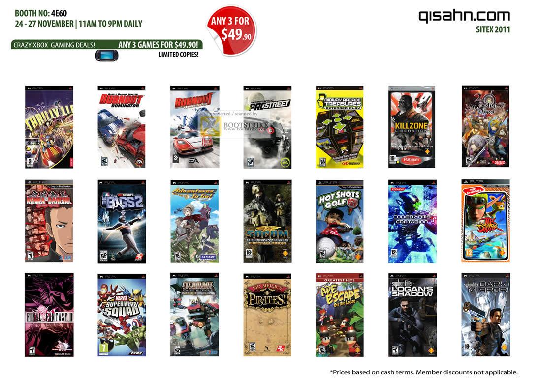 Xbox 360 Games List : Qisahn microsoft xbox games burnout prostreet hot