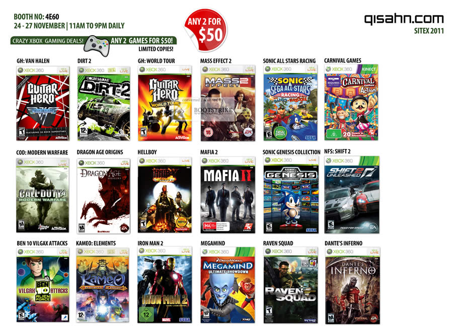 Nintendo Xbox 360 Games Xbox 360 Nintendo Wii