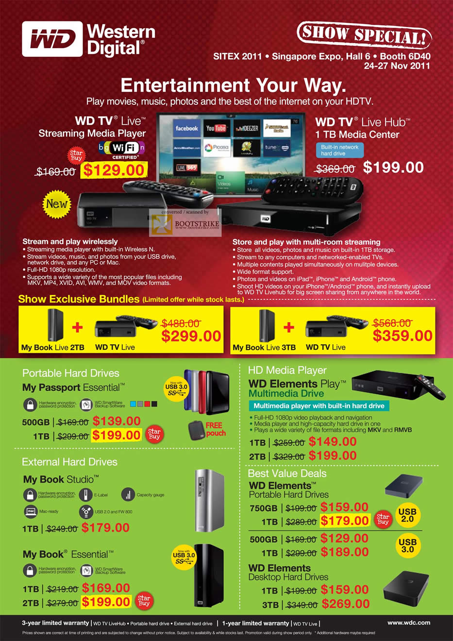 Wd tv live prices / Hotwire promo codes