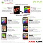 HTC Smartphones Sensation XE, Sensation XL, Evo 3D, Sensation, Rhyme, Incredible S, Radar, Wildfire S