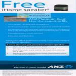 Free IHome Speaker Platinum Card