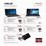 Notebooks AMD Vision K43TA-VX041V, K53U,SX188V, K53TA-SX110V, K53BY-SX200V, K73BY-TY116V