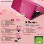 Notebooks K K43SJ-i5 K43SJ-VX627V, K43SA-i5 K43SA-VX101V, K43SJ-i3 K43SJ-VX649V, K43SA-i7 K32SA-VX096V