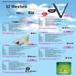 Notebooks U U31SD-RX241V, U36JC U36JC29i5N50X7PM, U36SD-i5 U36SD-RX370V, U46SV U46SV29i5N64D7PM, PRO36SD-i7 PRO36SD-RX139V, U41SV U41SV29i5l50D7PM 3Y