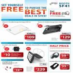 ISmart External Storage Visa Vogue, Classic Lite, TravelPAC Sling Bag, InCarBite IPad2, IStorm Earphone, Bluetooth Headset AI-301, AI-304