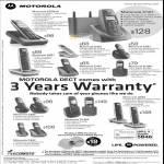 Motorola DECT Phones CD201b, O101, D501, D401, C601, C401, D1001, C602, C402, D1002, D502