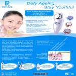 Skin Rejuvenator Deluxe Model 3D Vibration Cleaning Cleansing Rejuvenation Spa Light