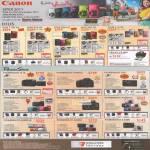 Digital Cameras IXUS 1100 HS, 310 HS, 230 HS, 220 HS, 115 HS, Selphy CP 800, PowerShot G12, SX40 IS, S95, SX230 HS, SX150 IS, A3300 IS, A3200 IS, A2200, A1200
