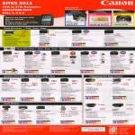 Inkjet Printers MP276, MP287, MG2170, MG5170, MP497, MG5370, MG170, MG6270, MG8270, MX366, MX416, IX7000, IP2770, IP3680, IP4870, IP100, Pro9000 Mark II, Pro9500