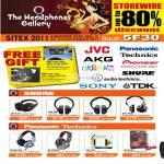 Headphones Gallery Shure SRH 240, 440, 840, 750DJ, Panasonic Technics RP-DH1200, HTF600, HTX7, DJ120