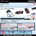 Digital Cameras EX-TR100, EX-ZS10, EX-ZS5