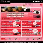 Digital Cameras EX-ZR100, EX-ZR10, EX-Z3000, EX-ZS15, EX-H30, EX-ZS100