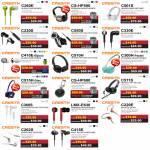Earphones Mic, Headphones C260E, CS-HP-500, C501S, C230S, C550S, C330E, C410E, C510H, C300H, C515, CS-HP600, C511S, C360S, LMX-E630, C220, C262S, C415E