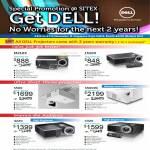 Projectors M210X, 1510X, S500, S500Wi, 4220, 4320