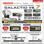 EastGear Galactio V8.7 GPS, Holux, Sensonic N400X, Sensonic N520m, OYG FC13 External Battery Casing, FC3B Multi Function Adapter