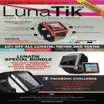 LunaTik IPod Nano Watch, Tiktok, Taktik