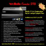 NeoMedia Combo D70 Media Player, VOD, TV