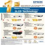 Epson Projectors EB-S02, EB-X02, EB-W12, EB-1750, MG-850HD, EB-1775W