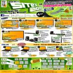 Samsung TV, ASUS Notebooks