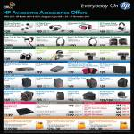 Accessories Headset, Beats Tour A9E35PA, LR594PA, Speaker, Webcam HD-2200, HD-3100, HD-3110, USB Docking Station, Case, Backpack, External Optical Drive