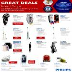 Philips Shaver, Sonicare Toothbrush, Vacuum Cleaner, Air Fryer