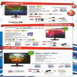 Monitors D2342P LED, IPS226V, IPS236V, E2041T, E2241T, E2441T