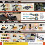 Vanguard Binoculars, Adaptor, Spotting Scope Kit, Camera Pouch, Cleaning Kit