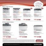 Multi Function Laser Printers X204n, X203n, E260dn, E260d, Colour Laser X544dn, X543dn, C540n