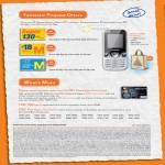 M Card Prepaid, Super 130, Huawei U2800 3G Phone, Citi M1 Platinum Visa Card