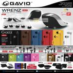 Gavio Wrenz Portable Speaker, Gruuve Gazz Earphones, Metallon AI Metal Alloy Earphones, Sgull, Colour, Wod, Luxz, Duetto, Amped Portable Speakers, 2Win