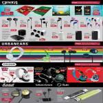 Gear4 Angry Birds Casing, Earphones GP08, GP07i, GP07, GP06i, GP06 Earz, GP05 Earz, Power WorldTour, UrbanEars Plattan