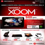 Motorola Xoom Wifi, Accessories, Speaker Dock, Bluetooth Keyboard, Folio Case, Vehicle Portable Adapter