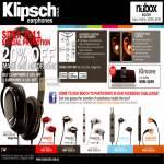 Nubox Klipsch Headphones Image S3, S4, S4i, S5i, X10i, IGroove
