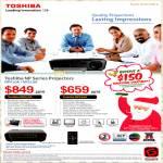 Toshiba NP Series Projectors NPX10A, NPS10A
