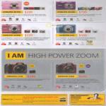 Digital Cameras Coolpix S6150, S3100, S2500, L23, L120, P500