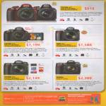 Digital Cameras DSLR D3100 KIT, D5100 KIT, D90 KIT, D7000 KIT, D300s Body