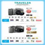 Digital Cameras Traveler Series SZ-10, SZ-30MR