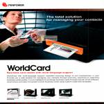 Penpower WorldCard Business Card Reader Features, Mac Plus, Ultra Plus, Color, Office