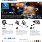 Headsets Savor M1100, Voyager Pro, Backbeat 903, Discovery 975