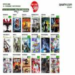 Qisahn Microsoft Xbox 360 Games, Red Alert 3, Final Fantasy 13, Sonic, Top Spin 4, Two Worlds 2