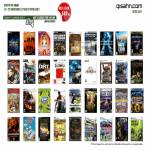 PC Games Dirt, Age Of Empire, Command And Conquer, Sims 3, Civilization IX, Silent Hunters, Final Fantasy XIV, Need For Speed Shift 2, Starcraft