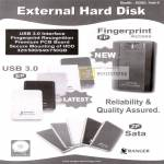 External Storage USB3, ZP Sata, EP, Fingerprint Access FP