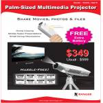 Portable Palm Sized Projector