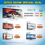 Audio House Smart TV Free Gift UA46D7000, UA55D7000, Hourly Specials