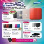External Storage M2 Portable, S1 Mini, S2 Portable, G3 Staton, DVD Writer External SE-084