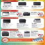 Laser Printers ML-1670, ML-1865W, ML-2525, CLP-320N, CLP-325W, SCX-3205W, SCX-4623F FW, SF-650P, CLX-3184FN FW, CLX-6220FX