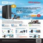 Western Digital My Book Live External Storage Personal Cloud Storage