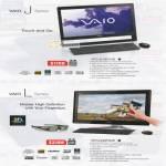 Vaio Notebooks J Series VPCJ218FG B, Vaio L Series VPCL229FG B